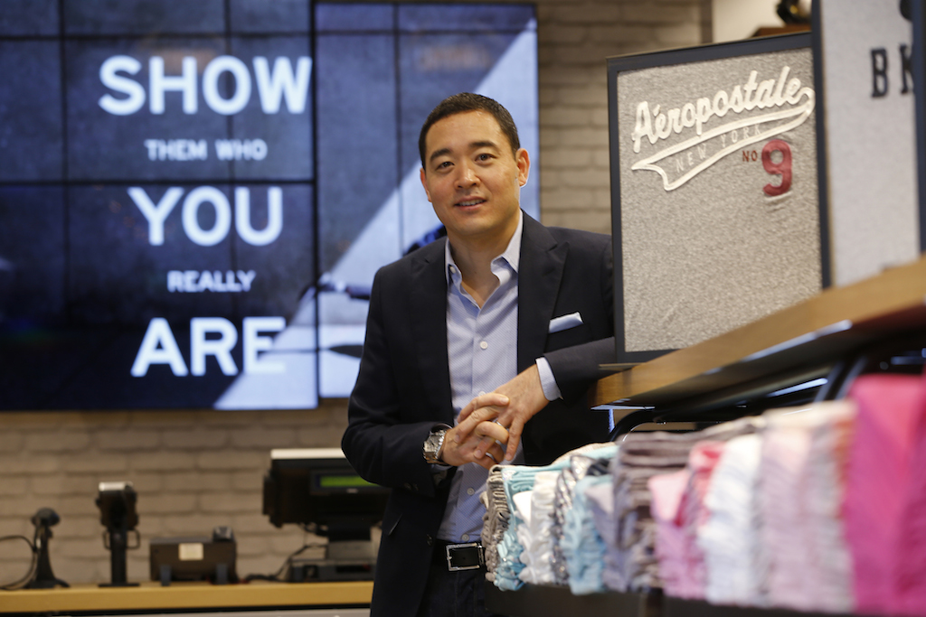 Aeropostale Ireland, Ken Ohasi, Global VP Aeropostale Global Licensing