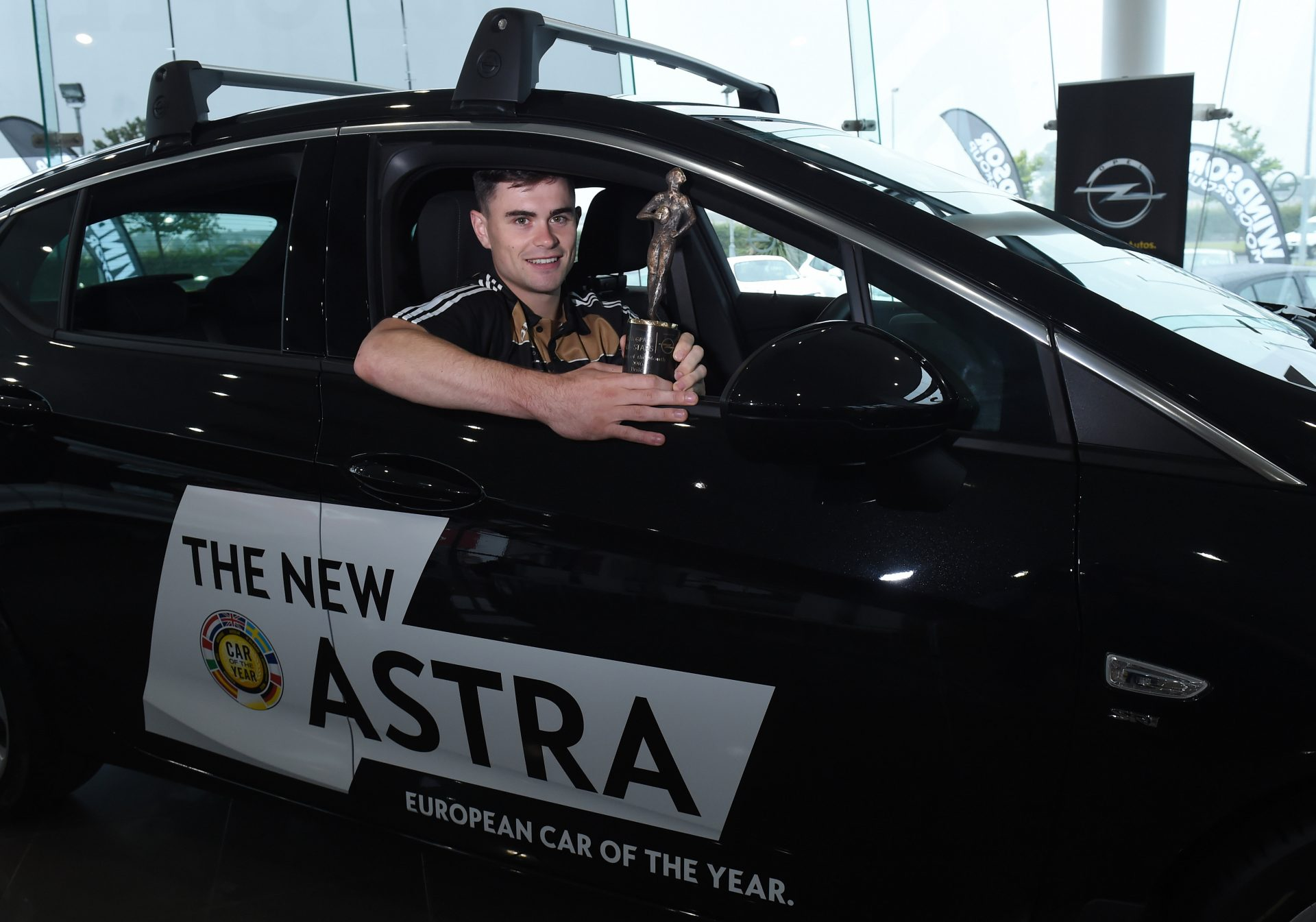 Michael Quinlivan from Tipperary who was confirmed as the GAA/GPA Opel Players of the Month