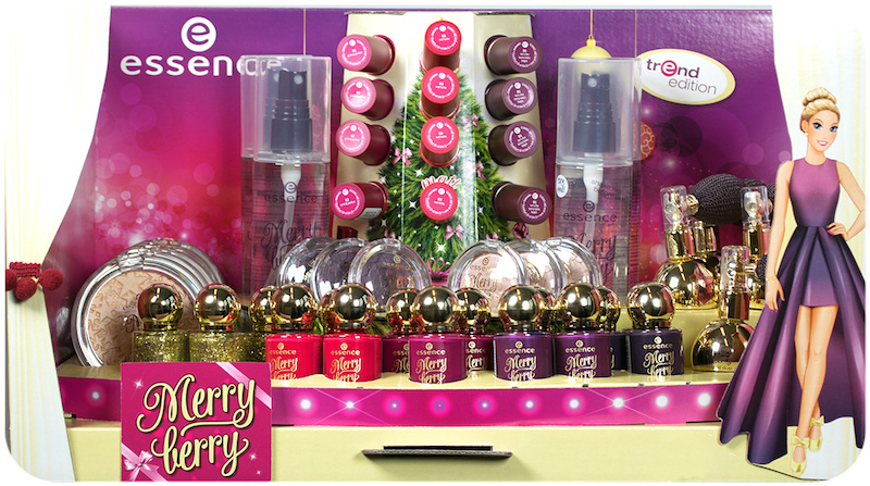 """hi beauties, the new trend edition """"merry berry"""" offers just the perfect products for a glamorous christmas style smile emoticon   which of these beauty pieces will be joining your collection?"""