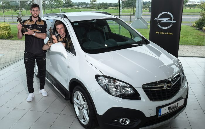 Paul Geaney, Austin Gleeson, GAA/GPA Opel Players of the Month,