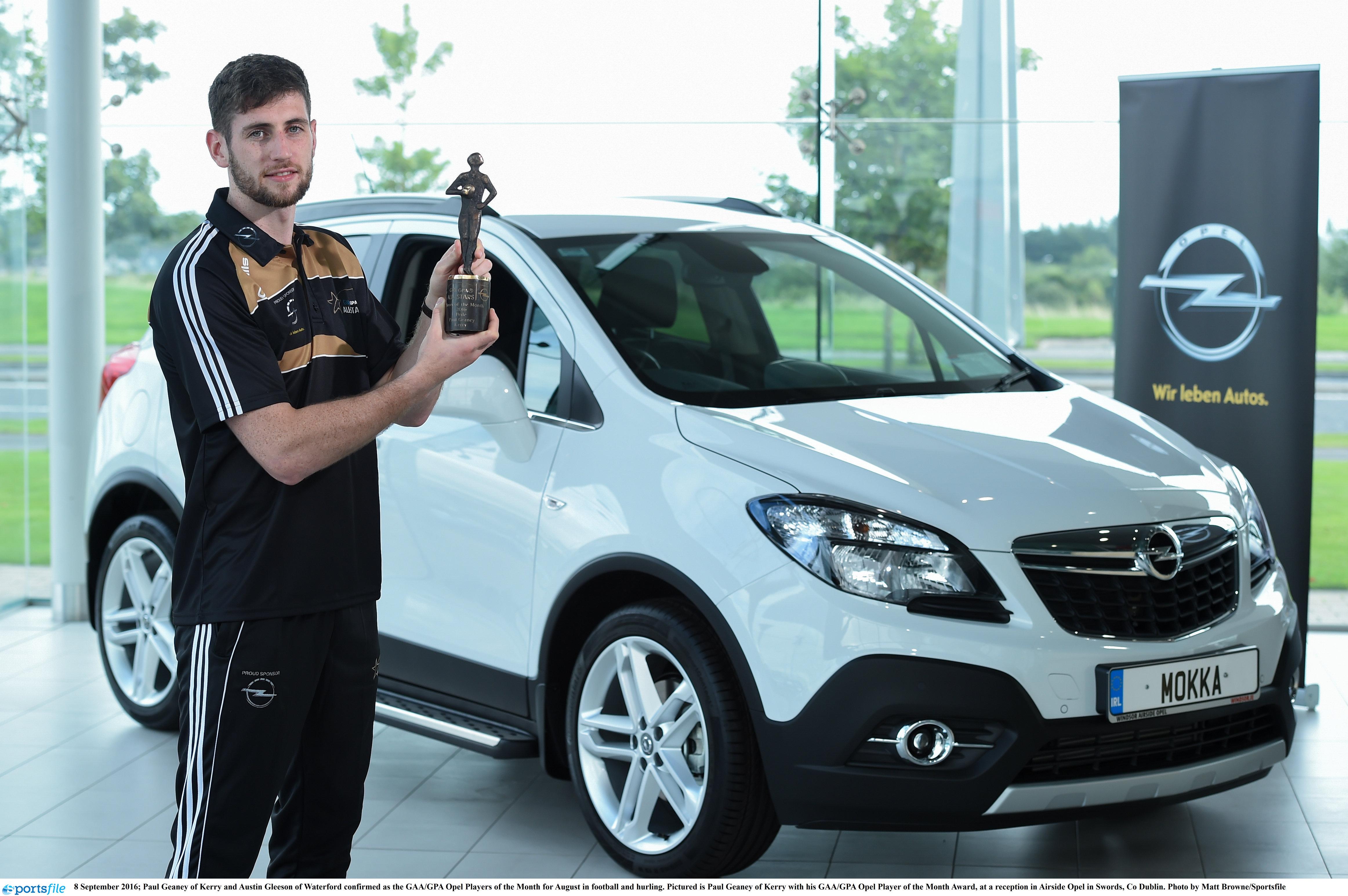 GAA/GPA Opel Player of the Month Award,
