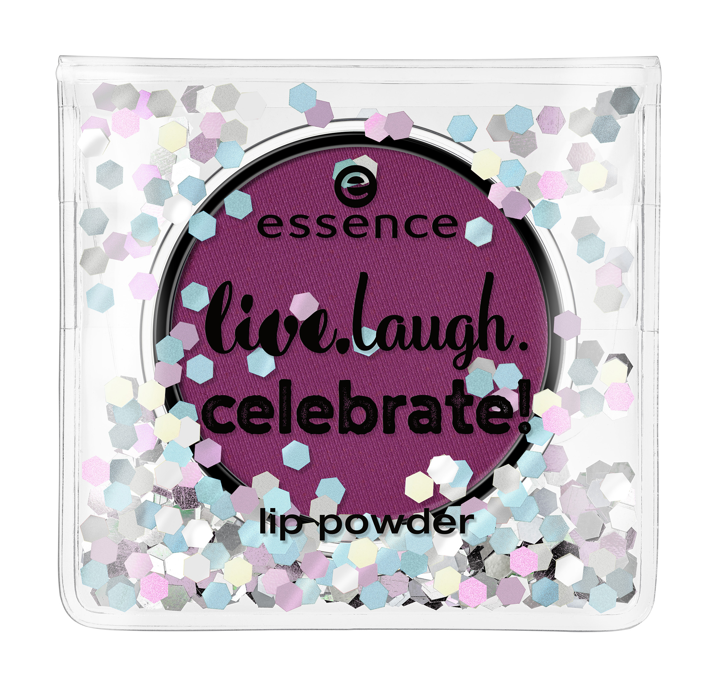 essence live.laugh.celebrate! lip powder 01