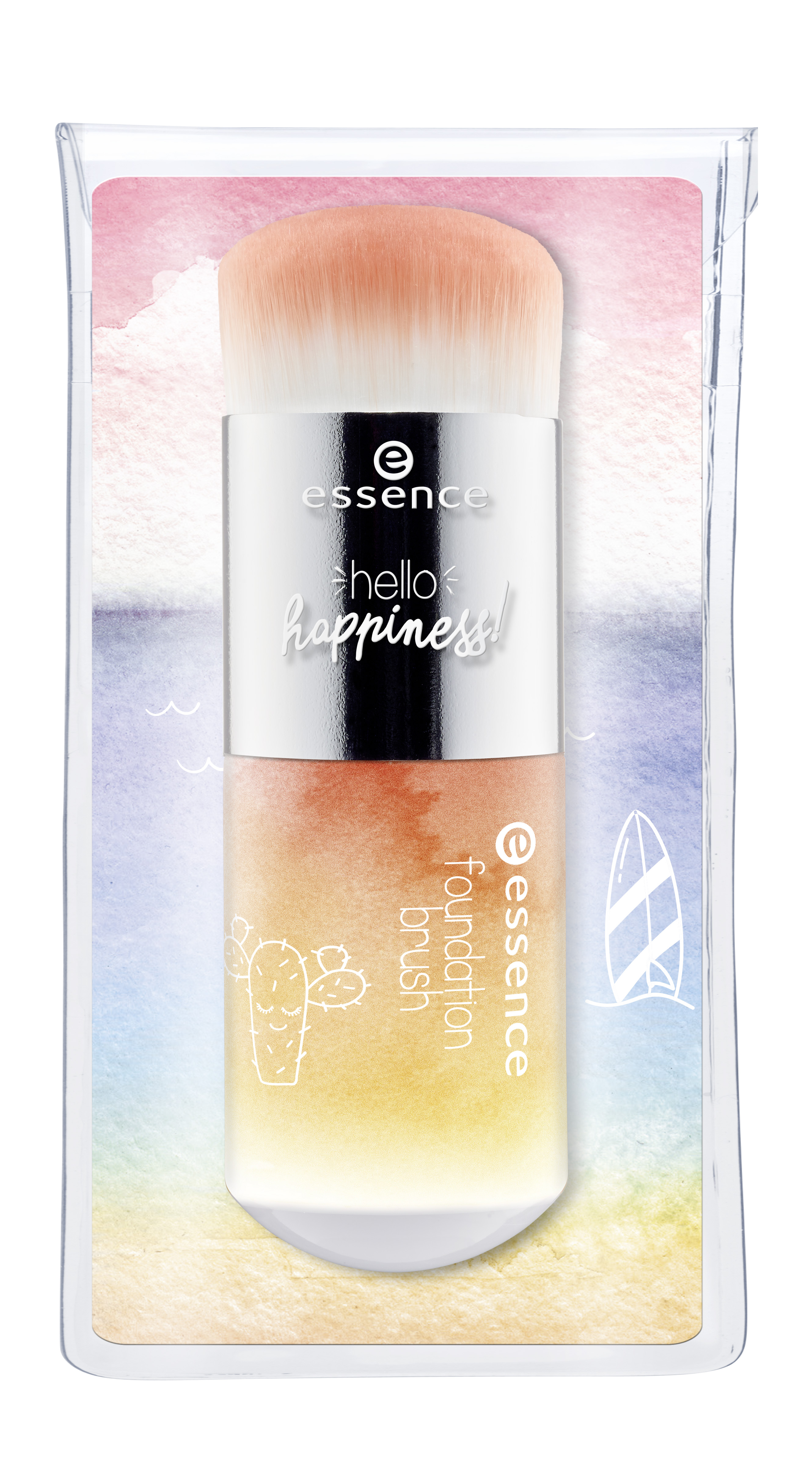 essence hello happiness! foundation brush pouch