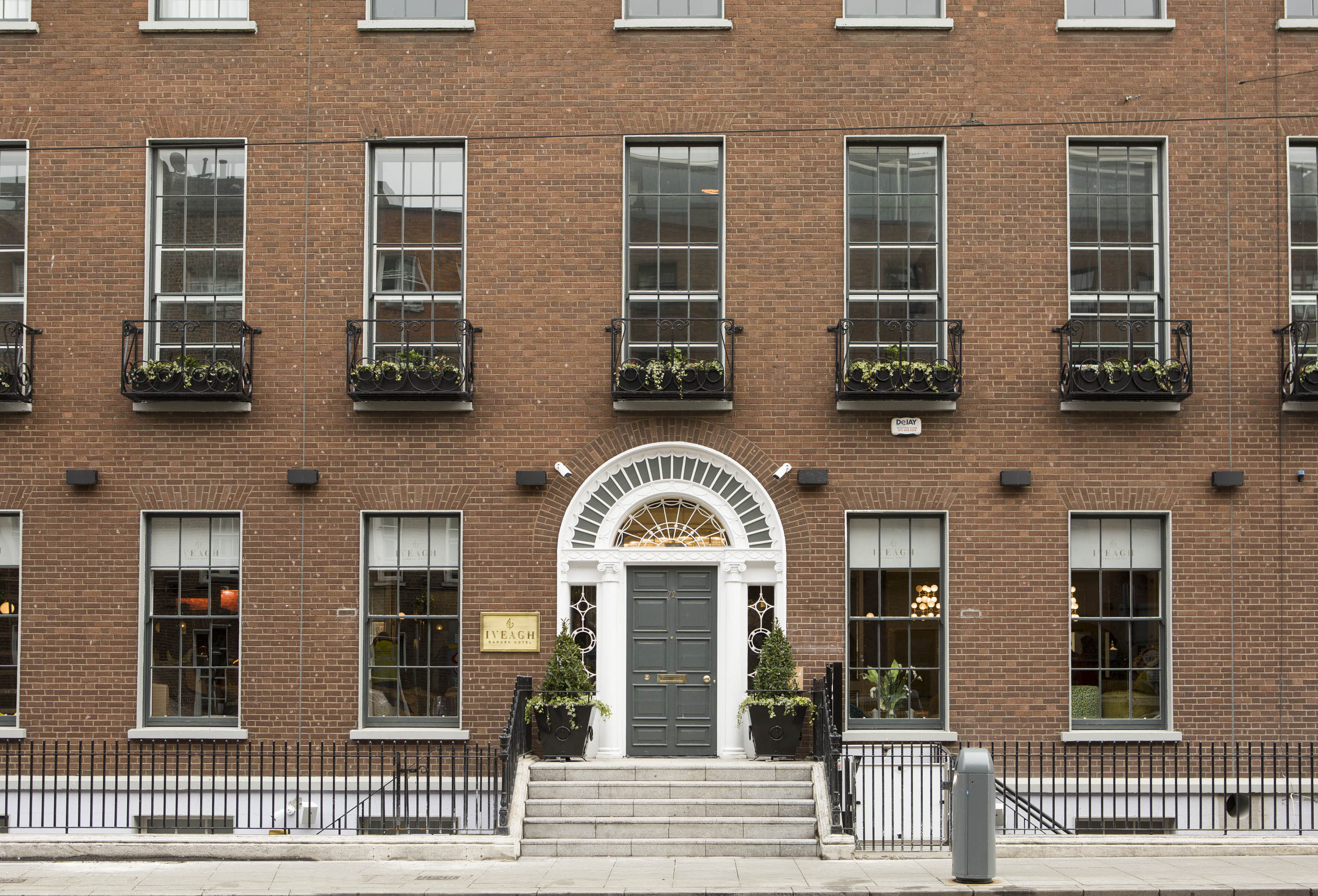 Iveagh Garden Hotel on Harcourt Street, Dublin 2  For further information please contact Mari O'Leary 017898888 or marioleary@olearypr.ie
