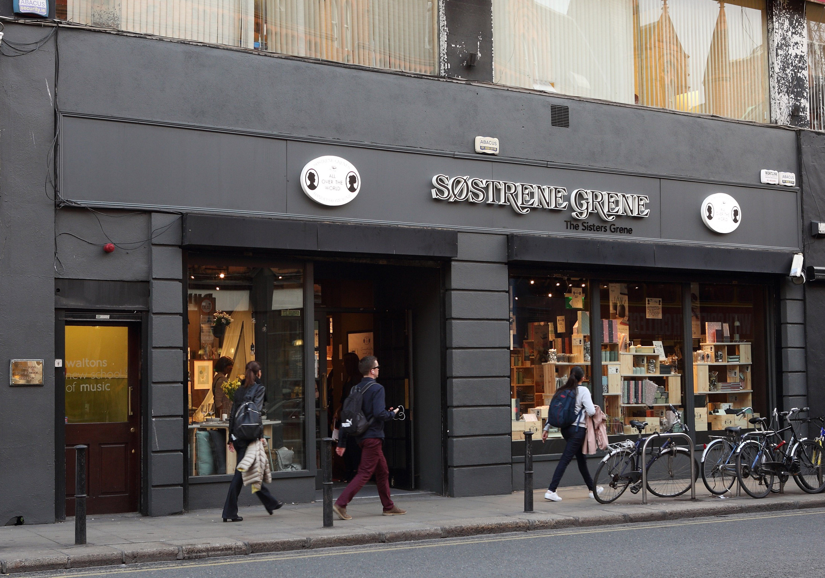 Sostrene Grene in South Great Georges Street,Dublin Pic Brian McEvoy Photograpy No Repro fee for one use