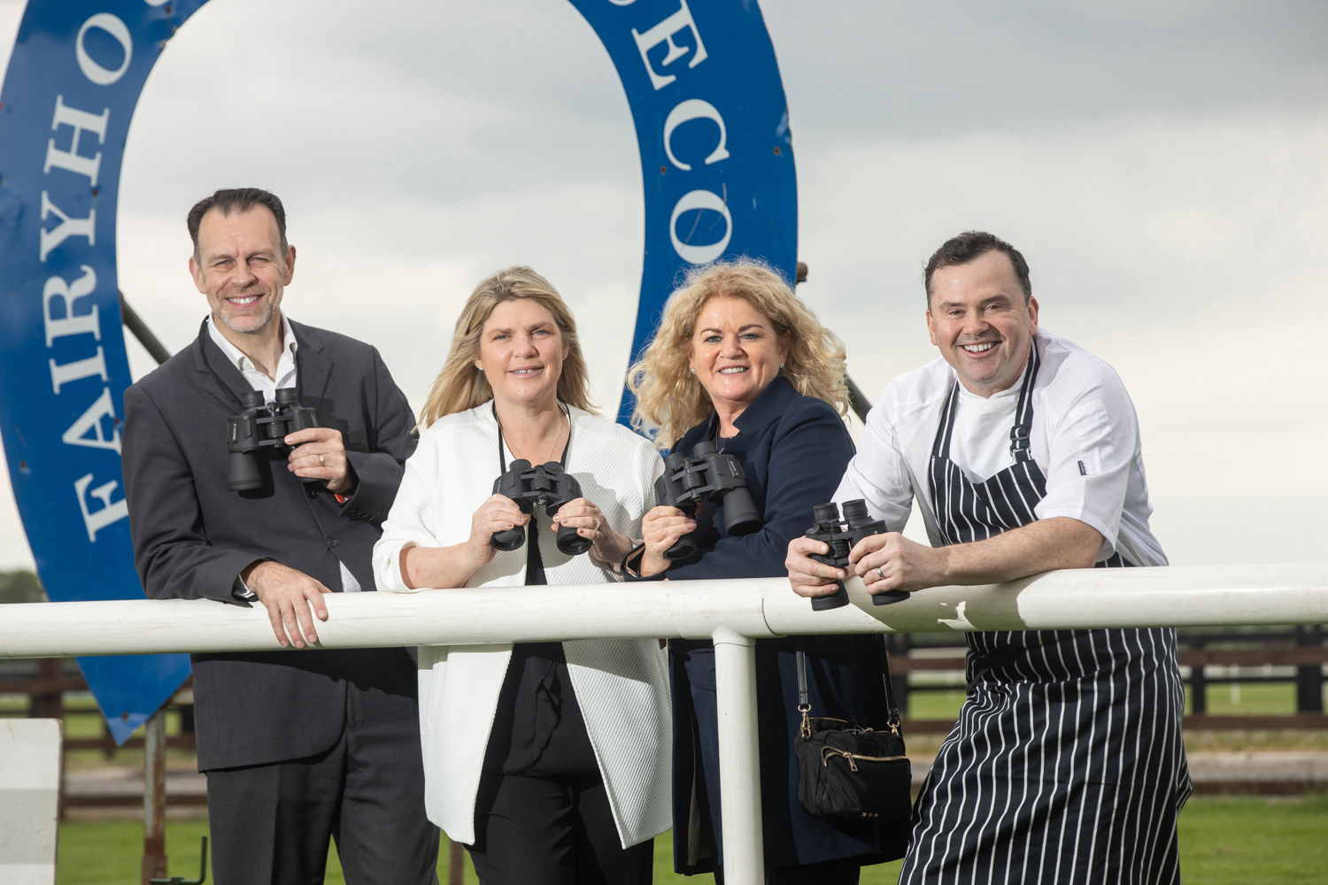 The directors of Fitzers Catering (Left to right) Barry Storey (Managing Director), Sharon Fitzpatrick (CEO), Paula Fitzpatrick (Director) and Lenny Fearon (Director and Group Executive Head Chef).  For further information please contact  Mari O'Leary  016789888 marioleary@olearypr.ie