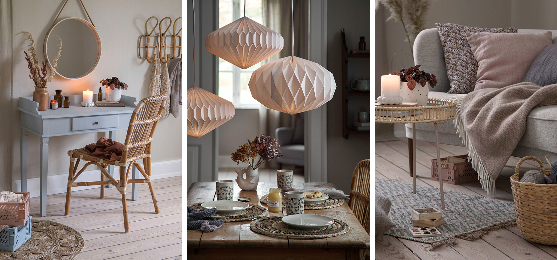Invite 'Hygge' indoors with the new 2020 lifestyle collection from Søstrene Grene
