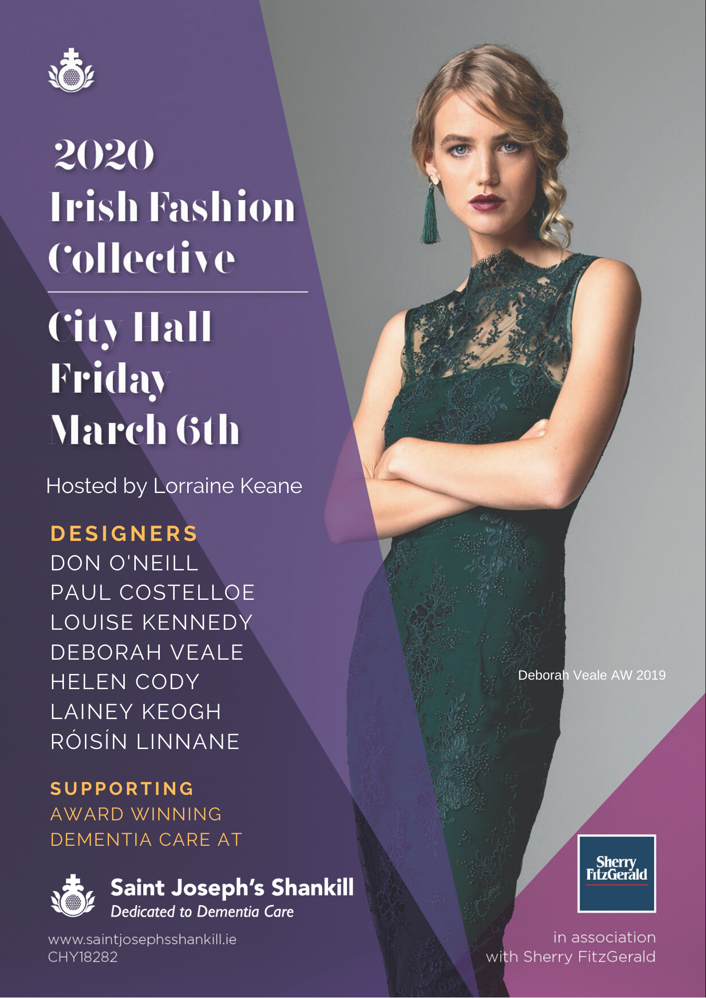 Irish Fashion Collective 2020 Don O'Neill and Paul Costelloe To Headine Show