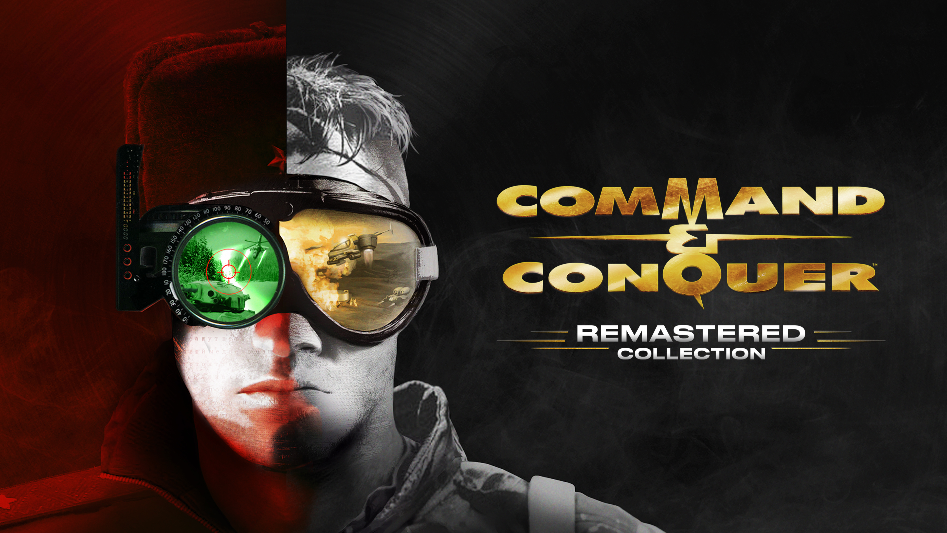 THE COMMAND & CONQUER REMASTERED COLLECTION IS AVAILABLE NOW