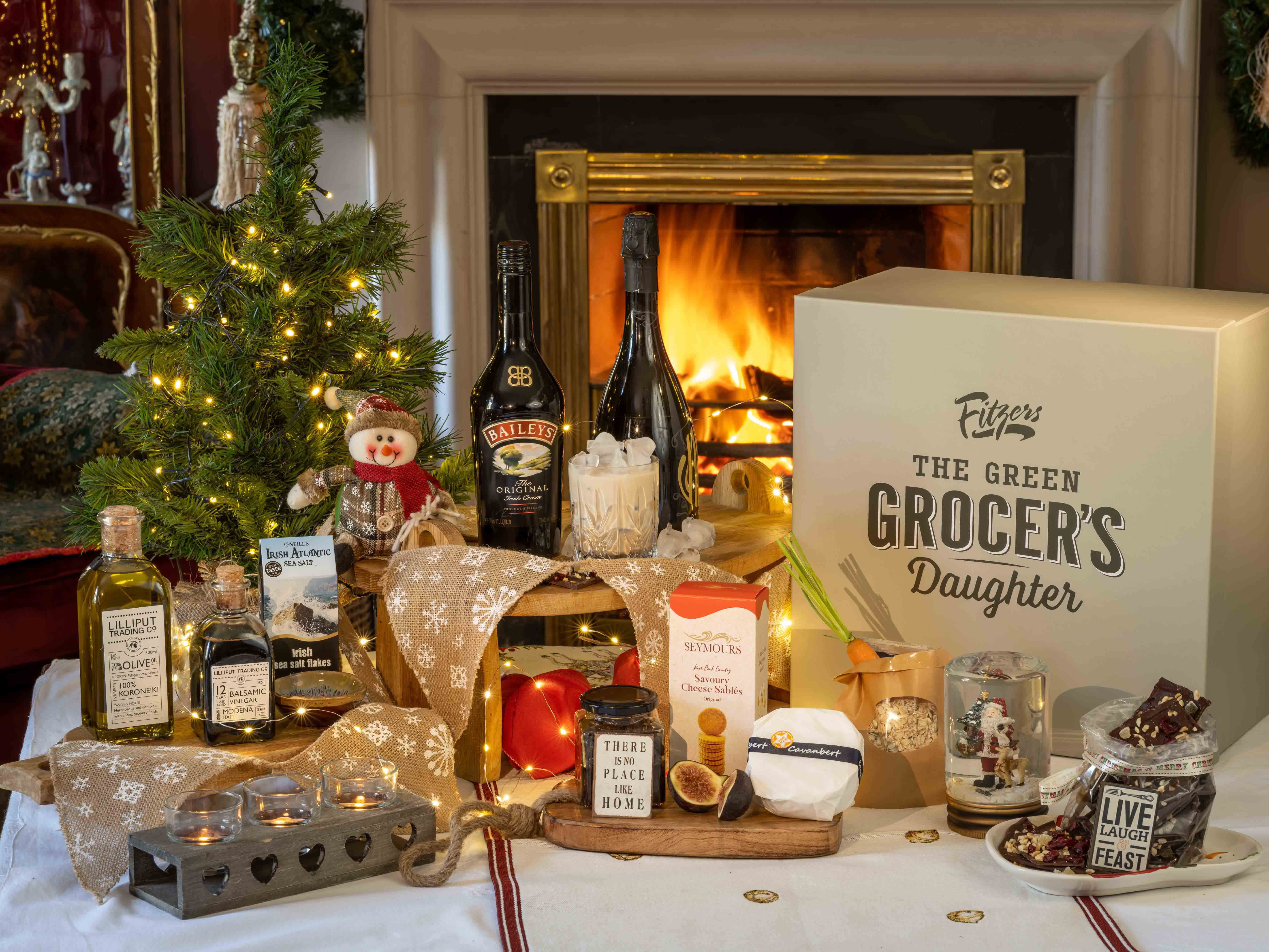 All I want for Christmas is ….. Fitzers Catering's Green Grocer's Daughter Luxury Hampers and Nurish Christmas Party In A Box