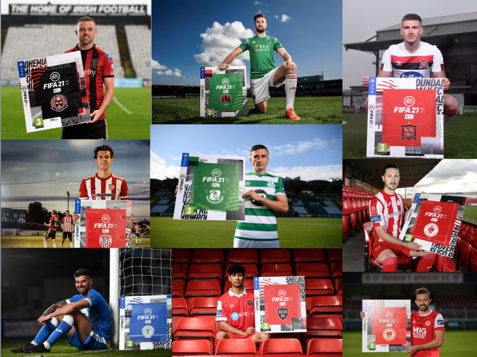 EA SPORTS Announces Return of the  FIFA 21 SSE Airtricity League Club Packs