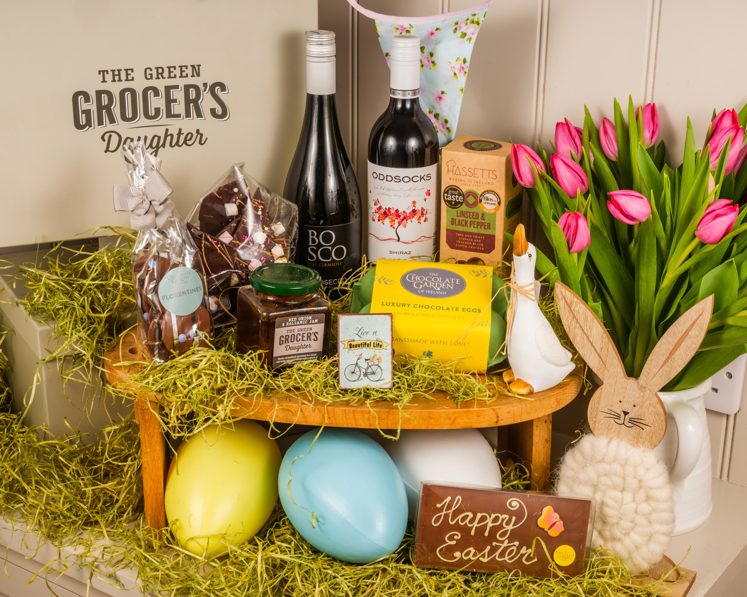 Send the Perfect Gift This Easter The Greengrocer's Daughter Luxury Hampers