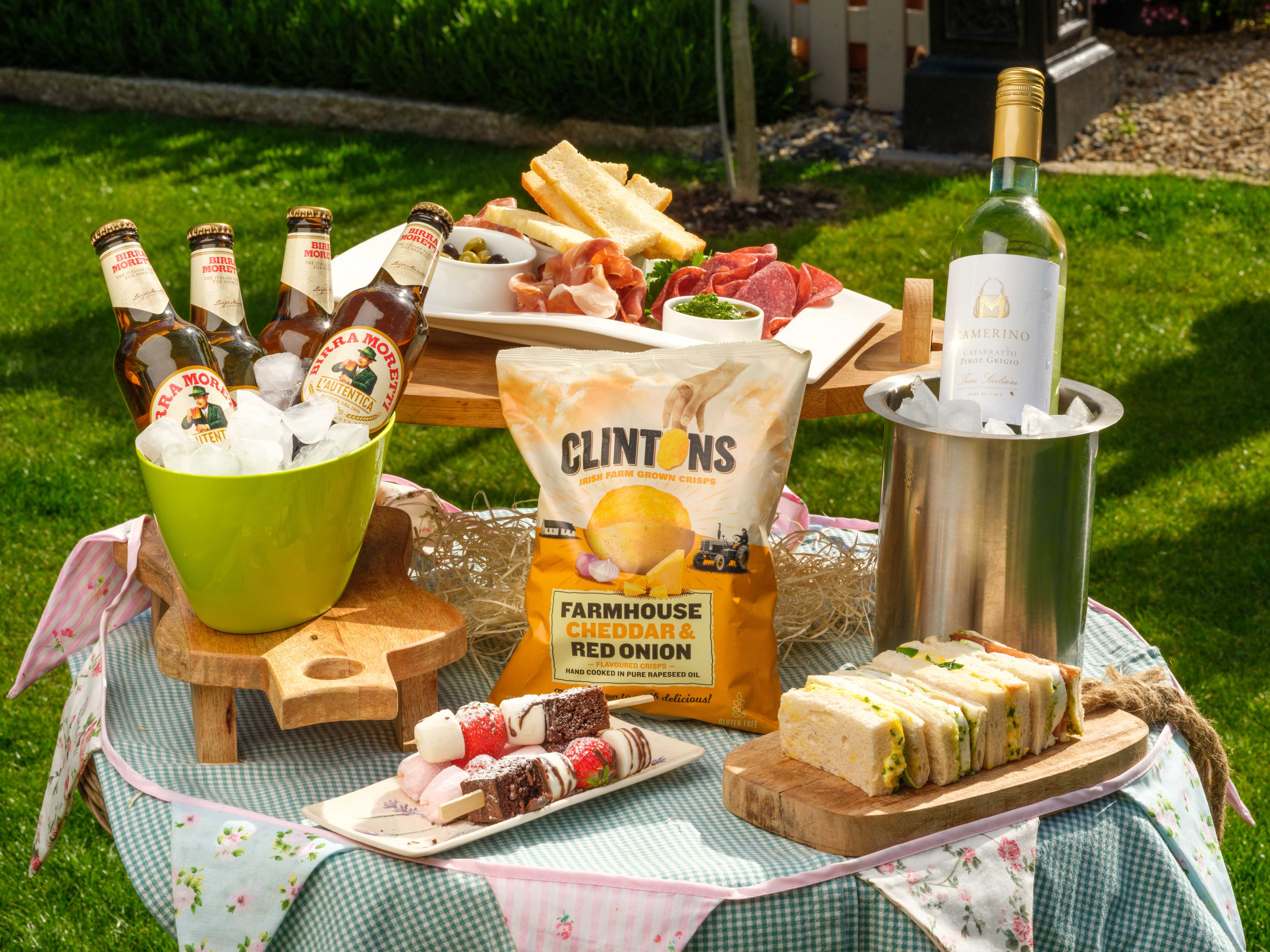 Celebrate Summer With  Luxury Hampers by The Greengrocer's Daughter & Seasonal Meal Boxes from Fitzers Catering Núrish