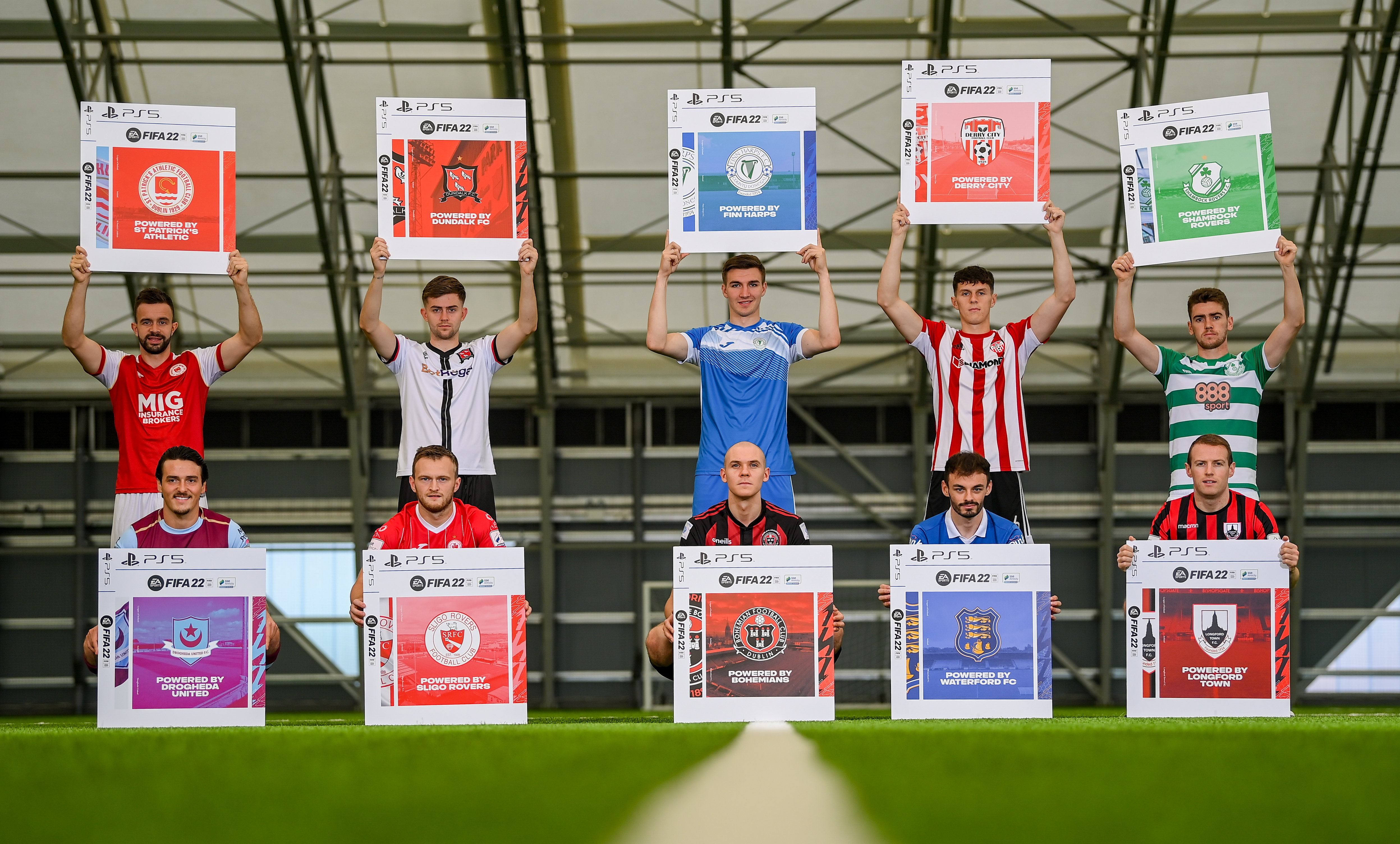 EA SPORTS Announces Return of the  FIFA 22 SSE Airtricity League Club Packs